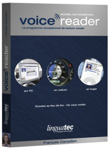 Voice Reader Home French Canadian