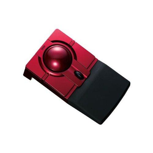 【サンワサプライ】ワイヤレストラックボール(光学式・レッド)