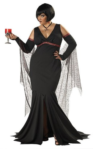 Immortal Seductress - Plus Size Female Vampire Costume