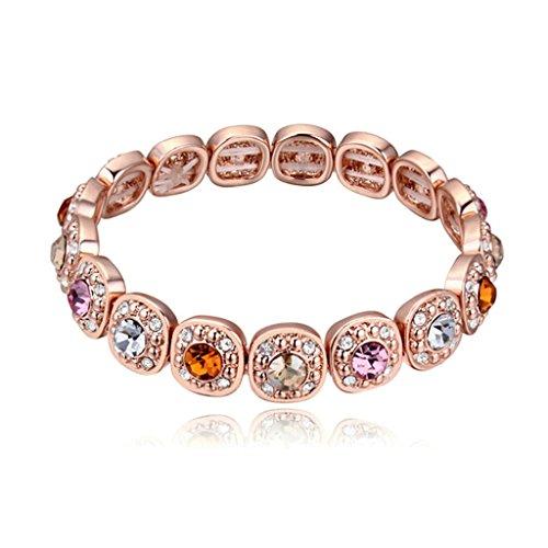 adisaer-plaque-or-bracelets-femme-or-rose-bracelets-charms-rose-or-colorful-zirconium-16cm
