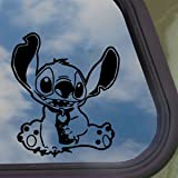 DISNEY Black Decal LILO AND STITCH ALIEN Window Sticker