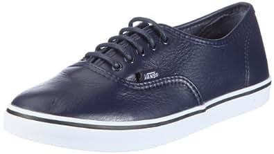 Vans U AUTHENTIC LO PRO VGYQLAM, Baskets mode mixte adulte - Bleu ((Leather) Pcoat), 36.5 EU