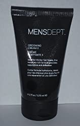 MENSDEPT Grooming Cream 2 II Ideal for Thicker Hair 4.2oz (125ml)