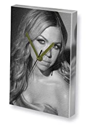ADELE SILVA - Canvas Clock (A4 - Signed by the Artist) #js001