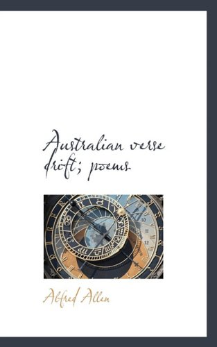 Australian verse drift; poems
