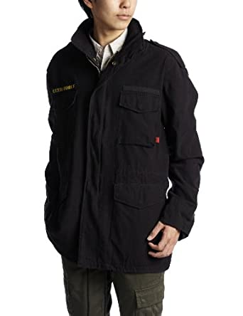 Rothco Ultra Force Vintage M-65 Jacket, Black, XLarge