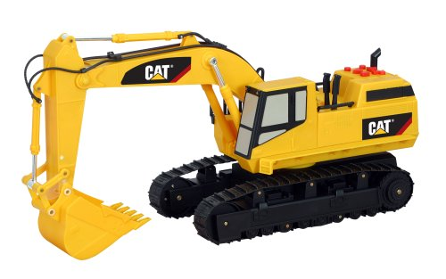 Cat Construction Toys : Toy state caterpillar construction massive machine excavator