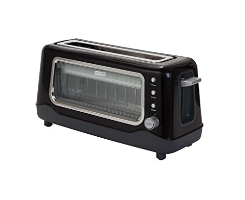 Black Clear View Toaster (Russell Hobbs Toaster 4 Slice compare prices)
