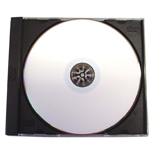 14mm Standard Single Black DVD Cases - 100 Pack