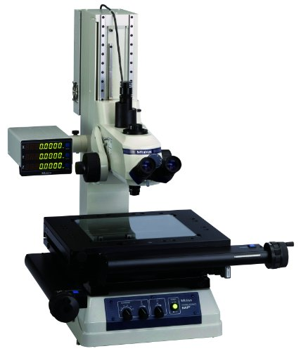 Mitutoyo 64Pka093 Mf-A2017C Measuring Microscope Without Z-Axis Scale, 200Mm X 170Mm Xy Travel Stage, 30X Magnification, Led Illumination Unit And Binocular Tube