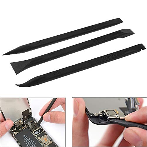 Professional Cell Phone Accessory Kits Baku 3 in 1 Durable Anti-Static Pry Bar Opening Repair Tools/Flexible Flat Cable Dedicated Kit