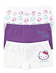 3 Pack Hello Kitty Seam Free Shorts