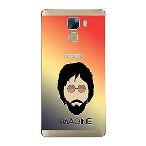ezyPRNT Back Skin Sticker for Huawei Honor 7 John Lennon 2