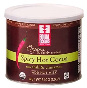 Equal Exchange Spicy Hot Cocoa 12 Oz Cans 2 Pack