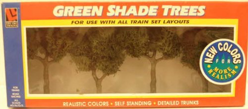 Life-Like Trains  Trees - Large Green Shade - 1
