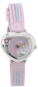 Barbie B462 - Reloj analógico para niña de sintético plateado