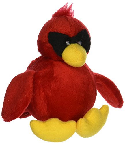 Purr-Fection Zorro Bouncy Buddy Cardinal Plush