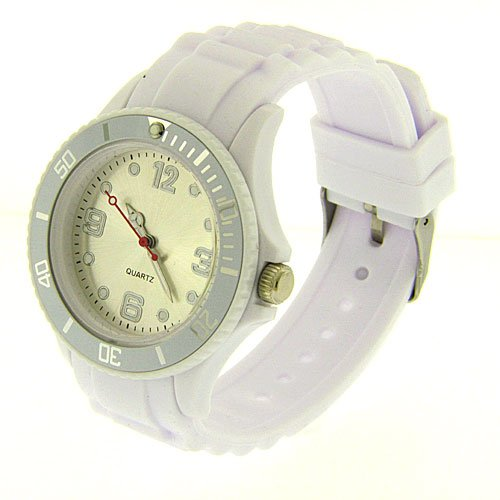 Unisex Wrist Watch - Toy Fashion Designer - White