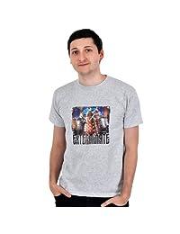 Doctor Who - Maglietta con motivo stampa Exterminate - T-Shirt Dalek Attack tratta dalla serie Tv science - Girocollo...