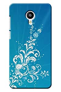 IndiaRangDe Case For MEIZU M2 Note (Printed Back Cover)