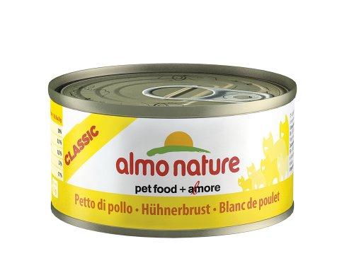 Almo Nature Legend Katzenfutter HÃ1/4hnerbrust, 6er Pack (6 x 70 g)