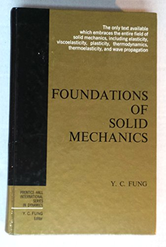 Foundations of solid mechanics