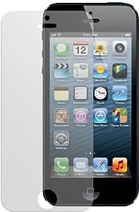 4x Dipos Antireflex Displayschutzfolie für Apple iPhone 5 + 5S Vorder- und Rückseite 2x VORNE und 2x HINTEN