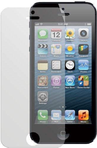 6x Dipos Antireflex Displayschutzfolie Apple iPhone 5 + 5S für Vorder- und Rückseite (4x Vorne + 2x Hinten)