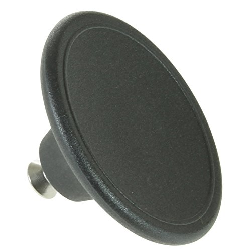 SPaRES2GO 5,5 cm-Poignée universelle grand bouton de couvercle pour thé urne Chromé Bouilloire Poêle, Sauteuse (Noir)