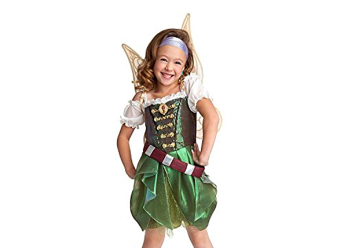 Disney Store Zarina The Pirate Fairy Costume/Wings Tinkerbell Size Large 9/10