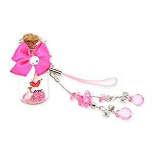 For Blackberry Curve 8520 8530 Bottle Cell Phone Charm PINK