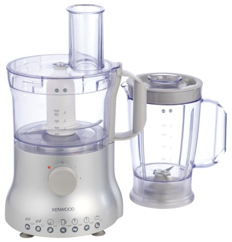 Kenwood Multi Pro Compact FP225 Food Processor, Silver from Compact