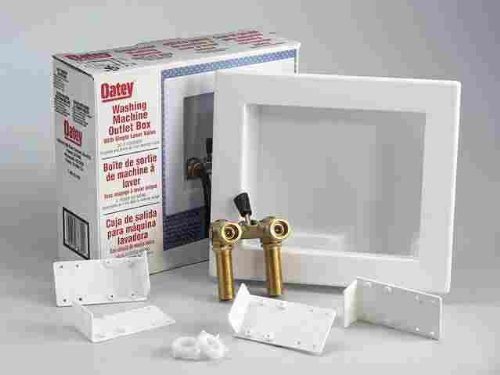 Single Lever Washing Machine Outlet Box (Pack of 2)