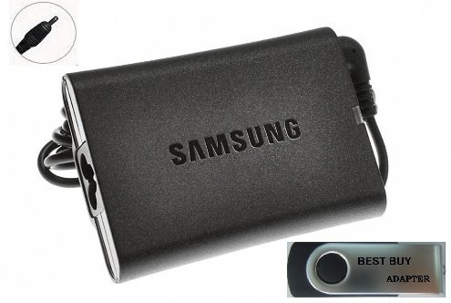 Bundle:3 items - Adapter/Power Cord/USB Drive***Samsung Slim 40W Replacement AC Adapter for Samsung Model:Samsung NP540U3C-A03UB Samsung NP540U4E Samsung NP540U4E-K01US Samsung NP740U3E Samsung NP740U3E-A01UB Samsung Chromebook Series 5 Samsung XE500C21 Samsung XE500C21-A01UK Samsung XE500C21-A01US Samsung XE500C21-A03US , 100% Compatible With P/N: AA-PA3NS40,AA-PA2N40L, AA-PA2N40S, AA-PA3NS40/US, AD-4019P,AD-4019W, AD-4019SL, BA44-00272A, BA44-00278A,BA44-00279A, CPA09-002A, PA-1400-14, PA-1400-24 (Samsung Series 5 Laptop compare prices)