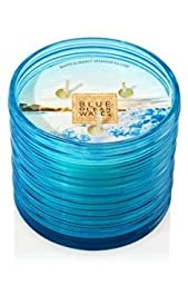 Bath and Body Works BLUE OCEAN WAVES 3 wick Scented Candle 14.5 Oz