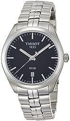 Tissot Men's 'PR 100' Swiss Quartz Stainless Steel Casual Watch (Model: T1014101105100)