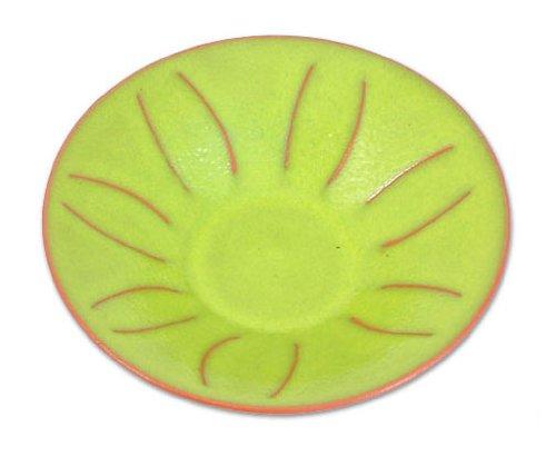 Ceramic centerpiece, 'Lemon'