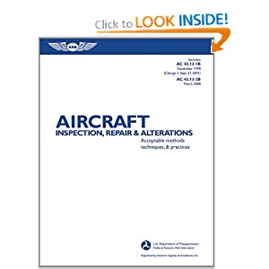 Aircraft Inspection, Repair & Alterations: Acceptable Methods, Techniques, & Practices (FAA Handbooks) download