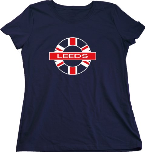 How to buy leeds united kingdom ladies 39 t shirt uk pride for Printed t shirts leeds