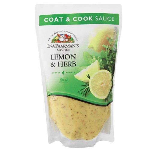 Ina Paarman's Lemon & Herb Coat & Cook Sauce 200ml