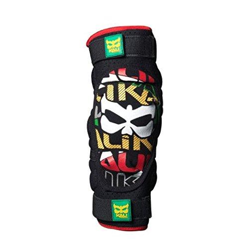 Kali Protectives Veda Elbow Guard, Black/Rasta, Medium (Kali Gear compare prices)