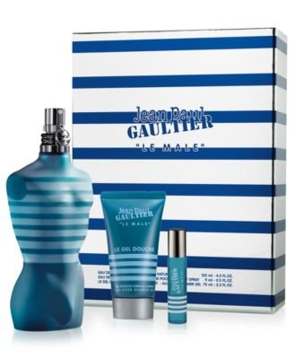 Jean Paul Gaultier Le Male Fragrance Set, 3 Count