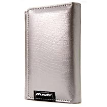 Ducti Ginormous Wallet - Silver/Black