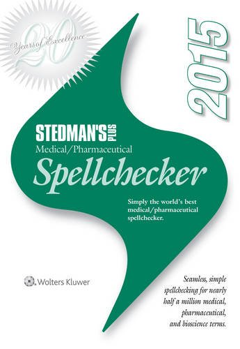 Stedman's Plus 2015 Medical/Pharmaceutical Spellchecker (Standard)