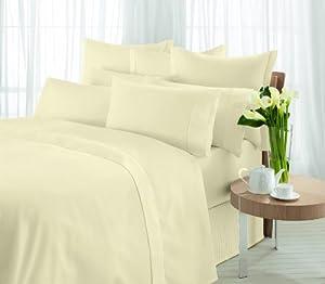 Sheridan, Valance SuperKing, 300tc Egyptian Blended Cotton, Vanilla