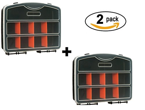 OrgPro Tool Box Screw Organizer 10 Removable Compartments for Nuts and Bolts Organization (Nut Bolt Storage compare prices)