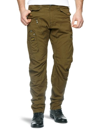 G-Star Arctic Powel 3D Loose Tapered Men's Trousers Wild Olive W34INxL32IN