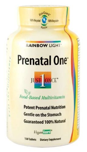 Rainbow Light Just Once Prenatal One Multivitamin (150 X 3)