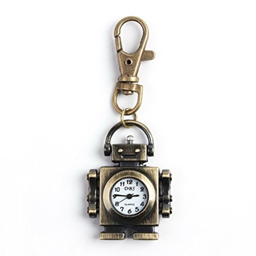 Small Robot Vintage Pocket Watch Hanging With The Popular Pull Cool Air (Robot Watch Vintage compare prices)