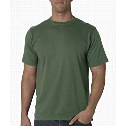 UltraClub Organic Men's Ring-Spun Organic Cotton Short Sleeve Tee